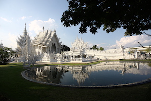 Chiangmai white temple