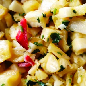 pineapple salad Vietnamese