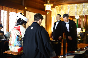 Japan wedding ceremony 大唐和风婚礼
