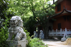 大理凤阳邑村法真寺 Fazhen Temple by tea and horse trail Fengyangyi, Dali, China