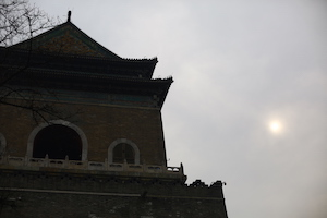 北京鼓楼日光drum tower sunlight Beijing