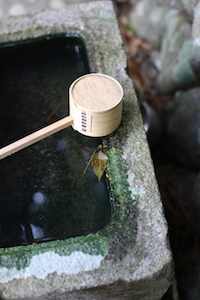 symbols of japan water spoon