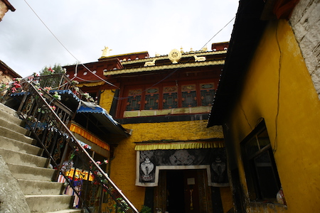 birth place of the 7th Dalai Lama
