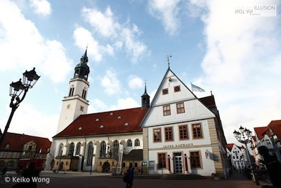 Celle, northern Germany, castles bell light tower, local neighborhood of old town 德国北部小镇策勒钟楼灯塔 - 生命非幻觉摄影