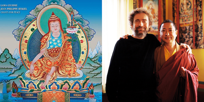 chants for peace, Lama Gyurme & Jean-Philippe