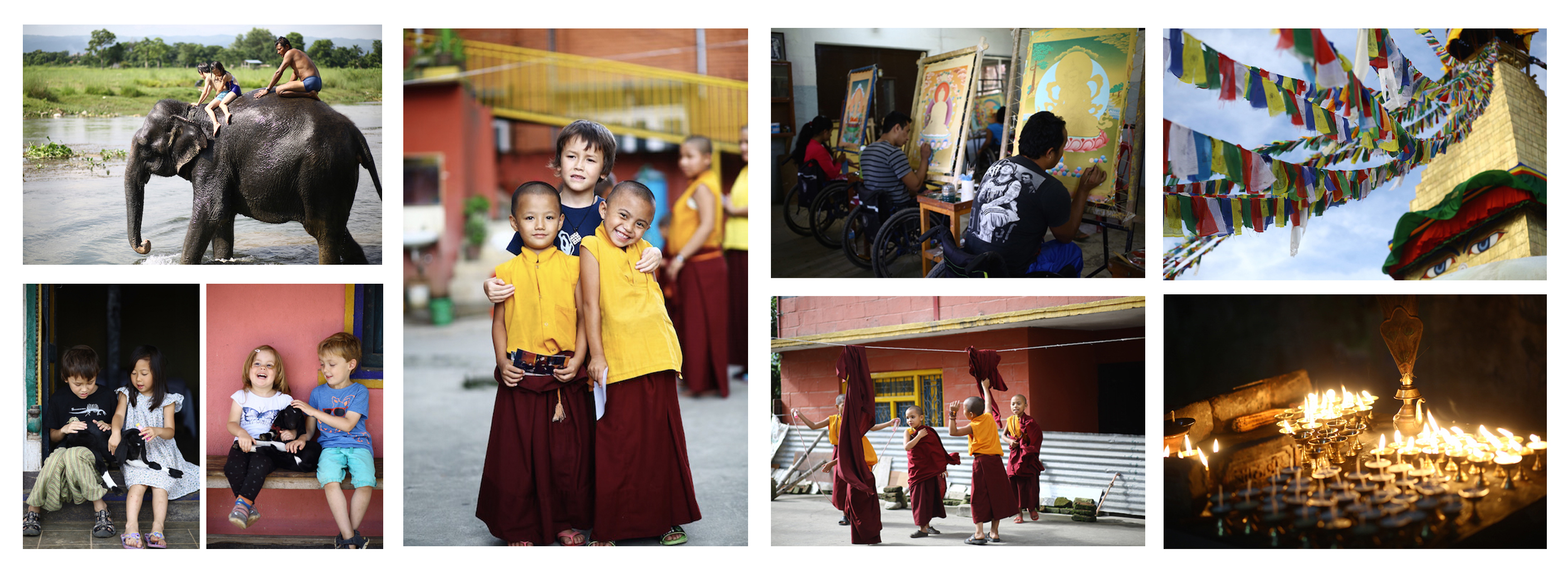 Nepal cultural trip for kids and family, photographed by Not An Illusion Productions